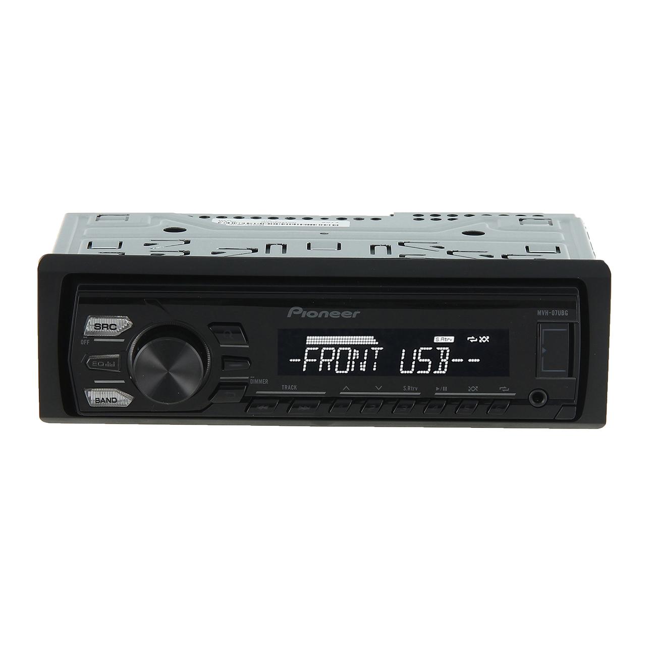 Купить USB-Автомагнитола Pioneer MVH-07UBG недорого