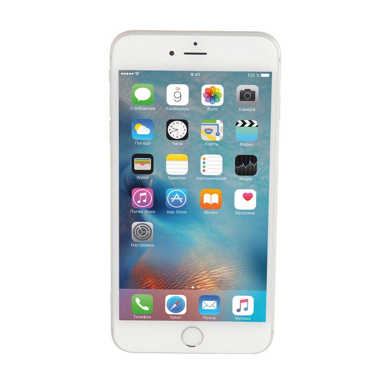 Купить Смартфон Apple iPhone 6 Plus 128GB Silver (MGAE2RU/A) недорого