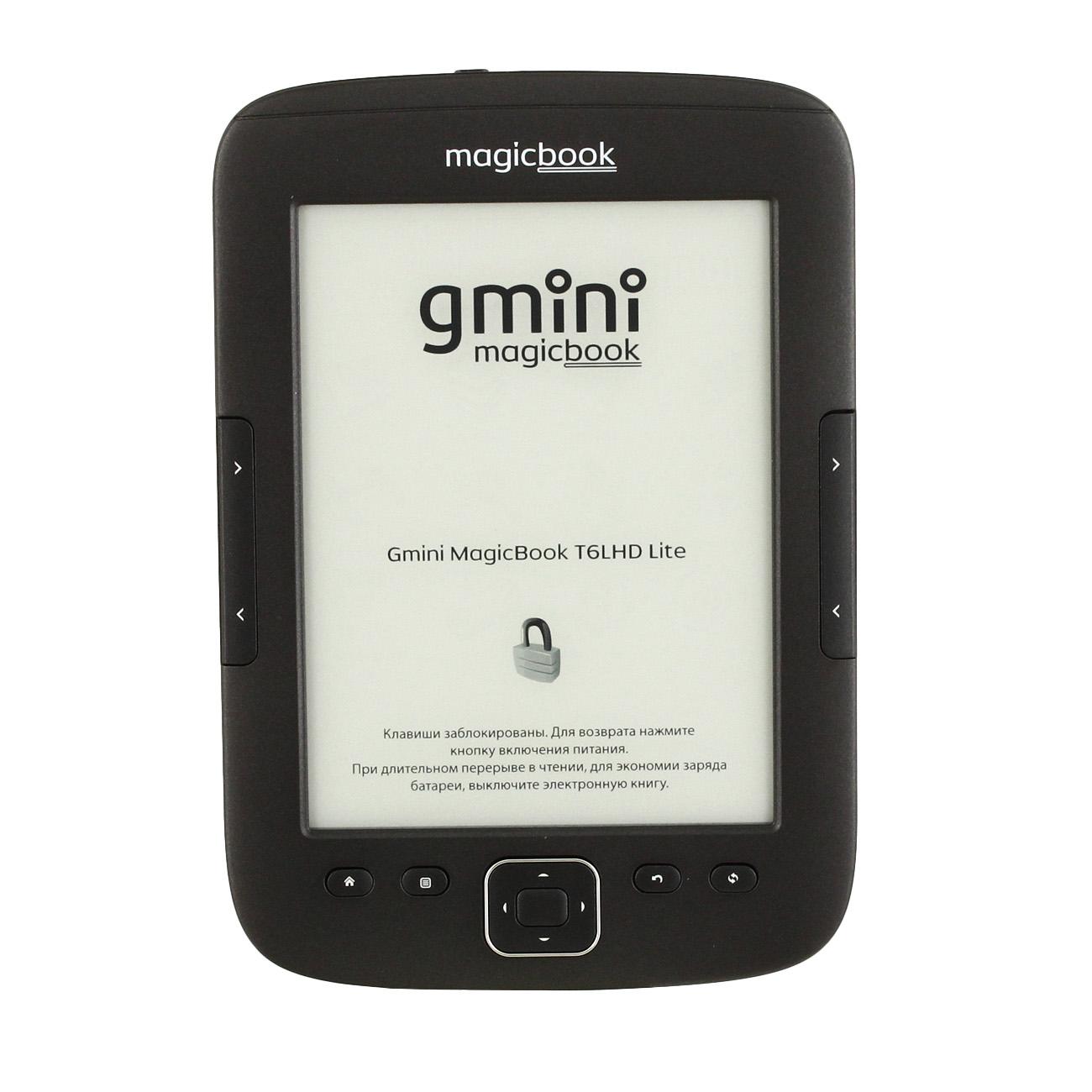 Электронная книга Gmini Magicbook T6lhd Lite 6