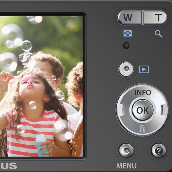 Olympus vg 110 12mp black digital camera on popscreen