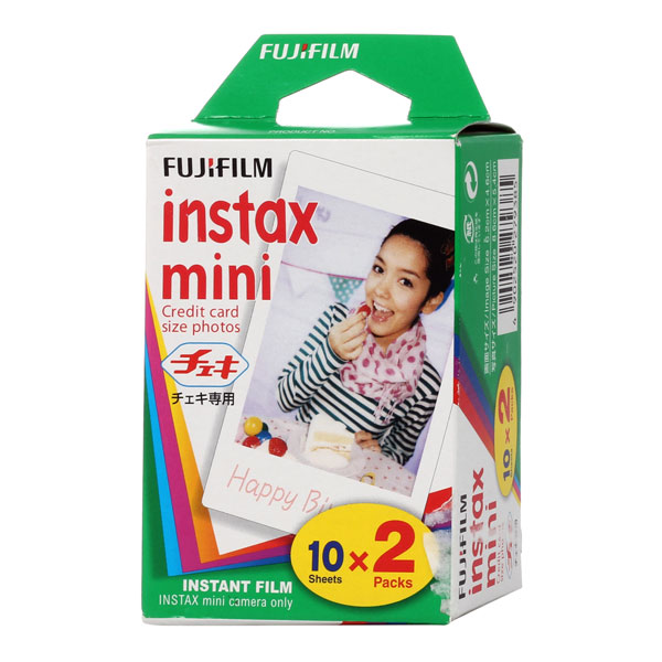 Картридж для фотоаппарата Fujifilm Colorfilm Instax Mini Glossy 10/2PK fujifilm colorfilm instax mini 10 2pk картридж