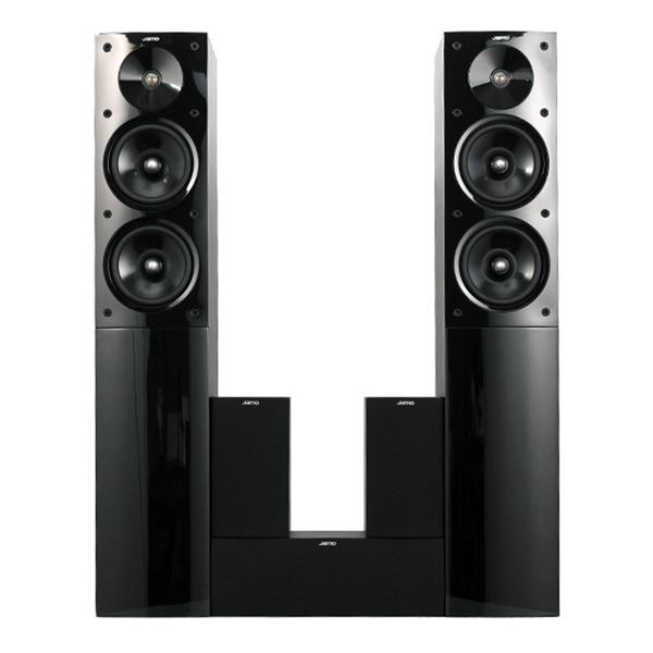 Комплект акустических систем Jamo S506 HCS3 Wenge jamo a 102 hcs 6 комплект акустики 5 1 black