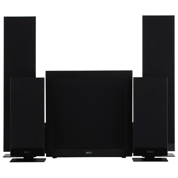 Комплект акустических систем KEF T205 Black