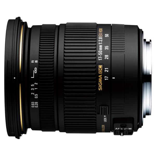 Объектив для зеркального фотоаппарата Sigma AF 17-50mm f/2.8 EX DC OS HSM Canon