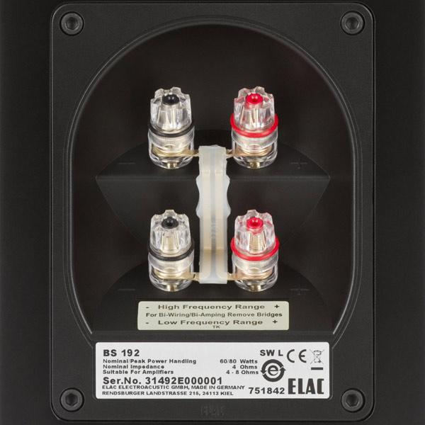 Купить Полочные колонки Elac BS 192 Black недорого