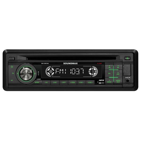 Автомобильная магнитола с CD MP3 Soundmax
