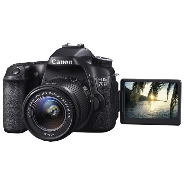 Фотоаппарат зеркальный CanonЦифровые зеркальные фотоаппараты<br>Эквивалент 35мм: 27 - 82.5 мм,<br>Кабель для цифр.подкл. (HDMI): доп.опция,<br>Светосила: F:3.5 - 5.6,<br>Используемая оптика: Canon Zoom Lens EF-S,<br>Разъем для внешней вспышки: 1,<br>Алгоритм сжатия RAW: Да,<br>Алгоритм сжатия JPEG: Да,<br>Выбор чувствительности: авто/ручной,<br>Выход HDMI: miniHDMI,<br>Порт USB: miniUSB 2.0,<br>Ремень для переноски: в комплекте,<br>Диагональ дисплея: 3 ,<br>Вид гарантии: гарантийный талон,<br>Вес: 755 г,<br>Кейс: доп.опция,<br>Наим. аккум. в комплекте: LP-E6,<br>Творческие эффекты: Да<br><br>Вес г: 755<br>Цвет : черный