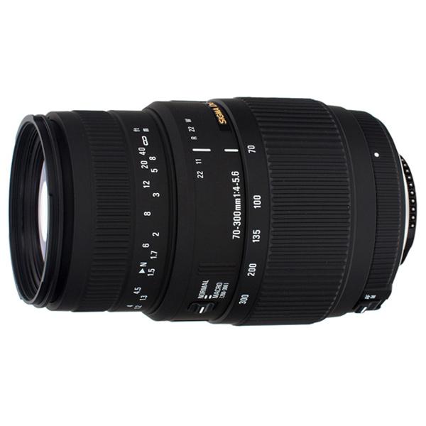 Объектив для зеркального фотоаппарата Sigma AF 70-300mm f/4-5.6 DG MACRO Canon
