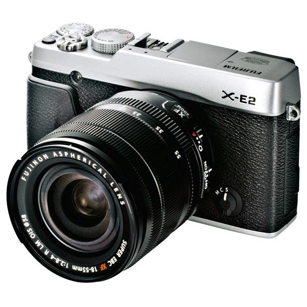 Фотоаппарат системный премиум Fujifilm X-E2 Kit 18-55 Silver fujifilm x t2 body black