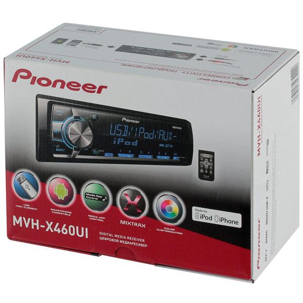 Pioneer Mvh X460ui инструкция - фото 9