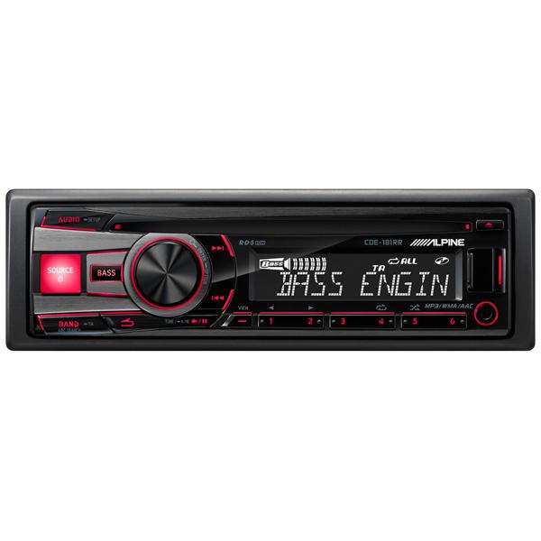 Автомобильная магнитола с CD MP3 Alpine