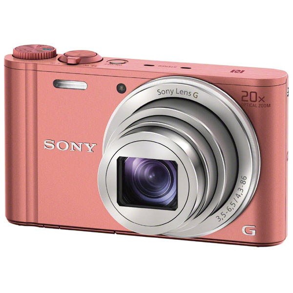 ����������� ���������� Sony CyberShot WX350 Red