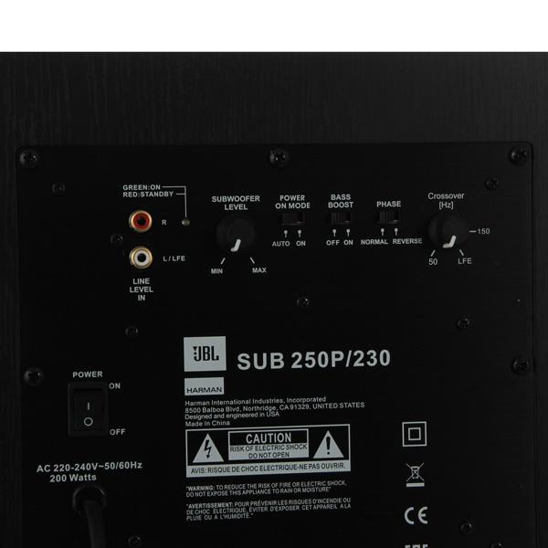 Купить Сабвуфер JBL Sub 250 PBK/230 недорого