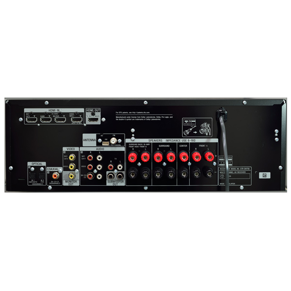 Sony Str Dh750 Инструкция