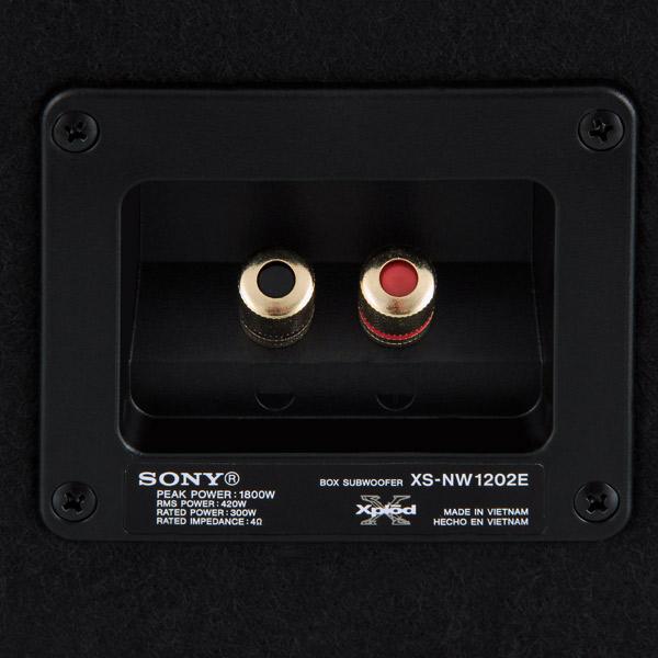 Купить Автомобильный сабвуфер корпусной Sony XS-NW1202E в каталоге интернет магазина М.Видео по выгодной цене с доставкой, отзыв