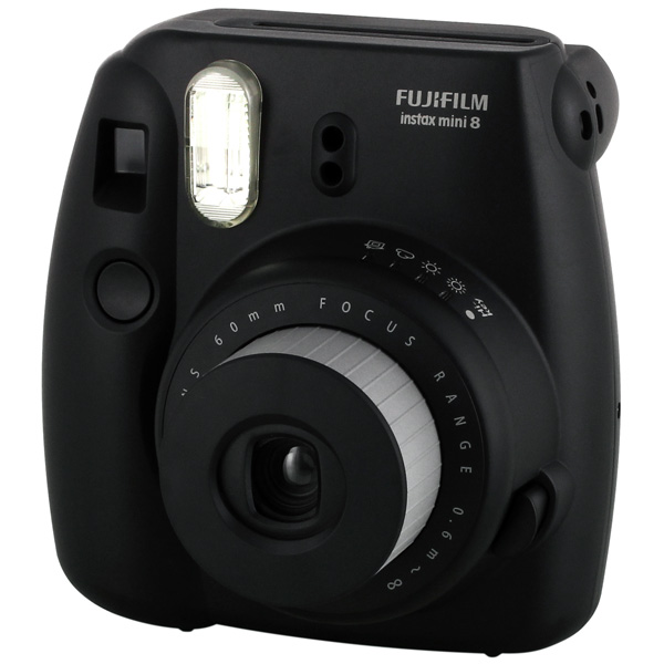 Фотоаппарат моментальной печати FujifilmФотоаппараты моментальной печати<br>Автоматическая вспышка: Да,<br>Серия: Instax Mini,<br>Размер фотографии: 62x46 мм,<br>Цвет: черный,<br>Индикация расхода кадров: Да,<br>Индикация режима вспышки: Да,<br>Вид гарантии: по чеку,<br>Картридж для фотоаппарата: доп.опция,<br>Страна: КНР,<br>Автоспуск: Да,<br>Автоматическая фокусировка: Да,<br>Встроенная вспышка: Да,<br>Дистанция фокусировки (м): 0.6-10000,<br>Фокусное расстояние: 60 мм,<br>Тип исп. батареи: 2 x AA (LR 6),<br>Используемая фотопленка: Fujifilm Instax Mini,<br>Используемая оптика: Fujinon Lens<br><br>Цвет : черный
