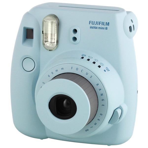 Фотоаппарат моментальной печати Fujifilm Instax Mini 8 Blue fujifilm instax mini 70 black фотокамера мгновенной печати colorfilm instax mini 10 2pk картридж