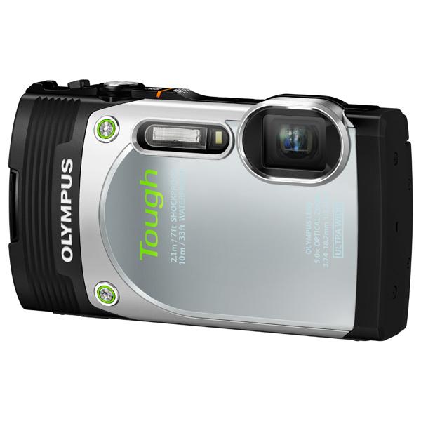 Фотоаппарат компактный OlympusЦифровые компактные фотоаппараты<br>Базовый цвет: серебристый,<br>Тип матрицы: CMOS,<br>Материал корпуса: металл/ пластик,<br>Дальность действия вспышки: 4 м,<br>Тип аккумулятора: Li-Ion,<br>Используемая оптика: Olympus,<br>Зарядка от USB порта: Да,<br>Стабилизатор изображения: оптический,<br>Емкость аккумулятора: 925 мАч,<br>Кабель AV: доп.опция,<br>Светосила: F:3.5 - 5.7,<br>Цифровое увеличение: 4x,<br>Оптическое увеличение: 5x,<br>Алгоритм сжатия MOV: Да,<br>Цвет: серебристый,<br>Диагональ дисплея: 3 ,<br>Диапазон выдержки: 4 - 1/2000 сек,<br>Алгоритм сжатия JPEG: Да<br>