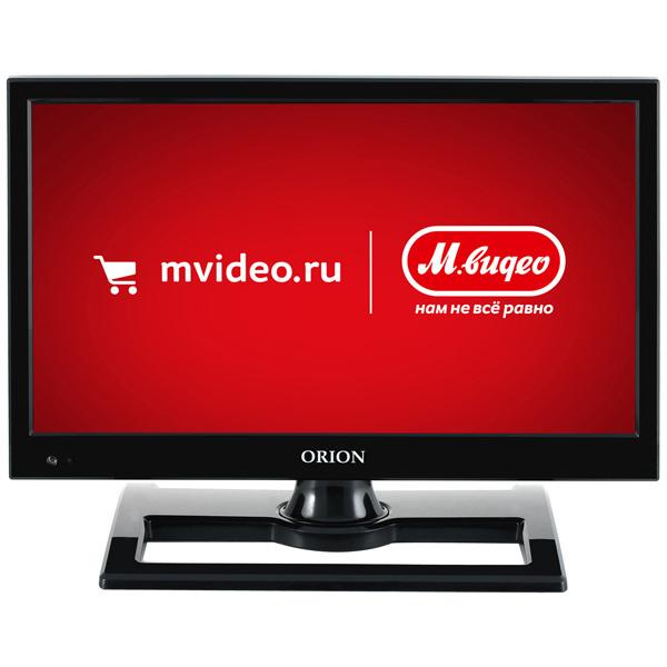 Телевизор OrionЖК LED-телевизоры<br>Вход RCA аудио: 1,<br>Дистанционное управление: полное,<br>Габаритные размеры (без подставки): 29*41.7*9.7 см,<br>Серия: 100,<br>Вход RCA видео композитный: 1,<br>Вход 3.5 мм аудио: 1,<br>Вход RCA компонентный YPbPr : 1,<br>Стереотюнер: A2/ NICAM,<br>Разрешение экрана: 1366x768 Пикс (HD Ready),<br>Гарантия: 1 год,<br>Базовый цвет: черный,<br>Воспроизведение H.264: Да,<br>Цифровое шумоподавление: Да,<br>Страна: Россия,<br>Версия HDMI: 1.4,<br>Воспроизведение MP3: Да,<br>Настольная подставка: в комплекте,<br>Тип батарей пульта ДУ: 2 х AAA (LR03)<br>