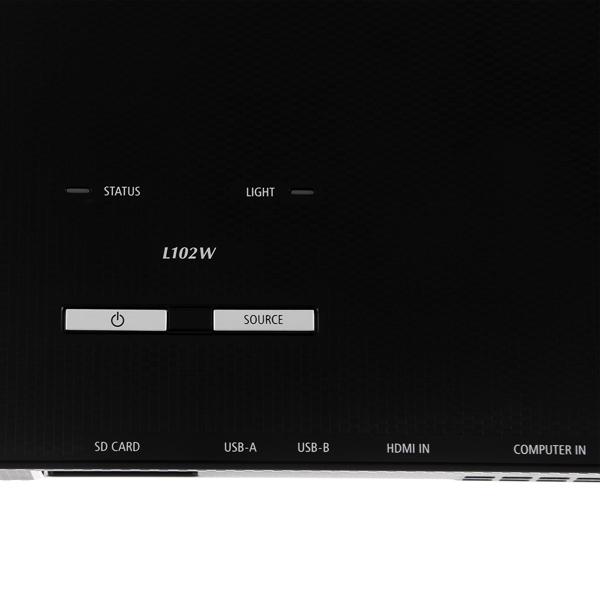 Купить LED видеопроектор мультимедийный NEC NP-L102WG недорого  Москва, Екатеринбург, Уфа, Новосибирск