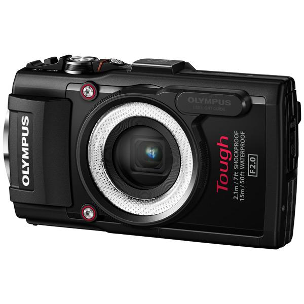 Фотоаппарат компактный OlympusЦифровые компактные фотоаппараты<br>Цвет: черный,<br>Материал корпуса: пластик/ резина,<br>Емкость аккумулятора: 1350 мАч,<br>Используемая оптика: Olympus,<br>Светосила: F:2.0 - 4.9,<br>Наим. аккум. в комплекте: Li-92B,<br>Базовый цвет: черный,<br>Оптическое увеличение: 4x,<br>Цифровое увеличение: 16x,<br>Карта памяти: доп.опция,<br>Порт USB: miniUSB 2.0,<br>Алгоритм сжатия JPEG: Да,<br>Зарядка от USB порта: Да,<br>Вид гарантии: гарантийный талон,<br>Фокусное расстояние: 4.5 - 18 мм,<br>Зарядное устройство в комплекте: Да,<br>Кабель USB: в комплекте,<br>Серия: STYLUS Tough<br>