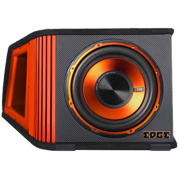 Автомобильный сабвуфер активный EdgeАктивные автомобильные сабвуферы<br>Активный сабвуфер: Да,<br>Цвет: черный/оранжевый,<br>Вид гарантии: гарантийный талон,<br>Чувствительность: 90 дБ,<br>Размер НЧ излучателя: 324 мм,<br>Вес: 20 кг,<br>Габаритные размеры (В*Ш*Г): 37*43*63.3 см,<br>Гарантия: 1 год,<br>Вход RCA аудио: 1,<br>Страна: КНР,<br>Максимальная мощность: 1200 Вт,<br>Установочный набор: доп.опция,<br>Цвет диффузора: оранжевый,<br>Сопротивление: 4 Ом,<br>Номинальная мощность: 400 Вт,<br>Частотный диапазон: 25 Гц - 1.5 кГц,<br>Материал корпуса: MDF/ войлок,<br>Высокочастотный вход: Да<br>