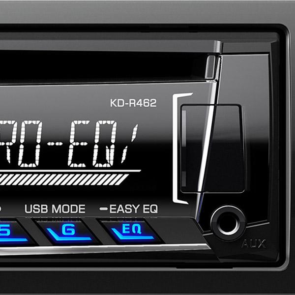 Купить Автомобильная магнитола с CD MP3 JVC KD-R462EYD недорого  Москва, Екатеринбург, Уфа, Новосибирск