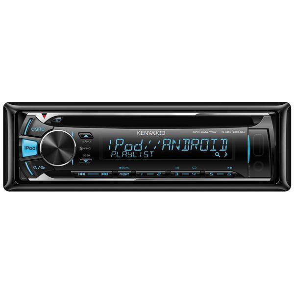 Автомобильная магнитола с CD MP3 Kenwood