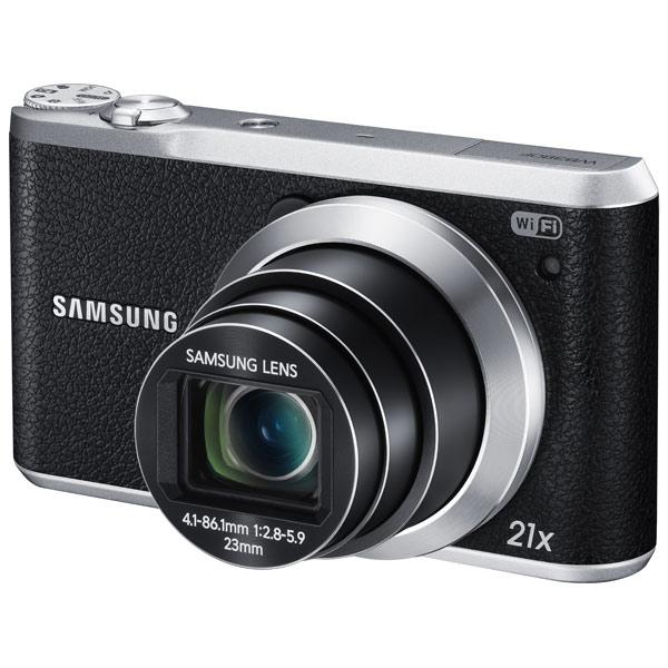 Фотоаппарат компактный SamsungЦифровые компактные фотоаппараты<br>Технология NFC: Да,<br>Алгоритм сжатия MPEG4: Да,<br>Стабилизатор изображения: оптический,<br>Светосила: F:2.8 - 5.9,<br>Цифровое увеличение: 5x,<br>Оптическое увеличение: 21x,<br>Алгоритм сжатия JPEG: Да,<br>Кабель AV: доп.опция,<br>Диапазон выдержки: 8 - 1/2000 сек,<br>Алгоритм сжатия H.264: Да,<br>Автоматическая фокусировка: Да,<br>Страна: КНР,<br>Диапазон ISO: 80 - 3200,<br>Цвет: черный,<br>Ширина: 114 мм,<br>Глубина: 25 мм,<br>Высота: 65 мм,<br>Диагональ дисплея: 3 ,<br>Распознавание: лиц,<br>Качество видеосъемки: FullHD (1920x1080 Пикс)<br>