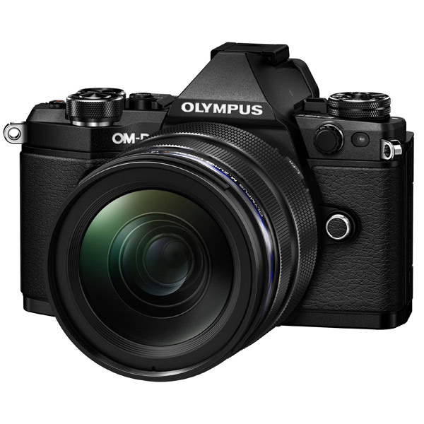 Фотоаппарат системный премиум Olympus OM-D E-M5 Mark II 12-40 Kit Black фотоаппарат olympus om d e m5