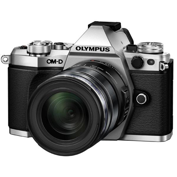 Фотоаппарат системный премиум Olympus OM-D E-M5 Mark II 12-50 Kit Silver фотоаппарат olympus om d e m5 mark ii kit 12 50 mm f 3 5 6 3 silver black