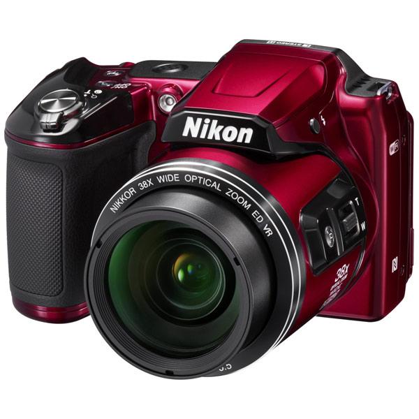 Фотоаппарат компактный NikonЦифровые компактные фотоаппараты<br>Страна: КНР,<br>Алгоритм сжатия H.264: Да,<br>Диагональ дисплея: 3 ,<br>Серия: COOLPIX Life,<br>Габаритные размеры (В*Ш*Г): 78*114*96 мм,<br>Диапазон выдержки: 4 - 1/4000 сек,<br>Оптическое увеличение: 38x,<br>Цифровое увеличение: 4x,<br>Автоматическая фокусировка: Да,<br>Цвет: красный,<br>Светосила: F:3.0 - 6.5,<br>Алгоритм сжатия JPEG: Да,<br>Базовый цвет: другие цвета,<br>Кабель USB: в комплекте,<br>Порт USB: miniUSB 2.0,<br>Выход HDMI: microHDMI,<br>Ремень на плечо: в комплекте,<br>Дальность действия вспышки: 6.9 м,<br>Диапазон ISO: 125 - 6400<br>