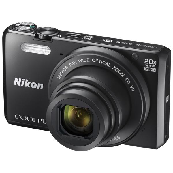 Фотоаппарат компактный NikonЦифровые компактные фотоаппараты<br>Разрешение ЖК дисплея: 460000 Пикс,<br>Габаритные размеры (В*Ш*Г): 60*100*27 мм,<br>Минимальная дистанция съемки: от 1 см,<br>Тип матрицы: CMOS,<br>Алгоритм сжатия JPEG: Да,<br>Наим. аккум. в комплекте: EN-EL19,<br>Светосила: F:3.4 - 6.5,<br>Карта памяти: доп.опция,<br>Цифровое увеличение: 4x,<br>Оптическое увеличение: 20x,<br>Диапазон ISO: 125 - 6400,<br>Распознавание: лиц,<br>Кабель AV: доп.опция,<br>Автоматическая фокусировка: Да,<br>Качество видеосъемки: FullHD (1920x1080 Пикс),<br>Кабель для цифр.подкл. (HDMI): доп.опция<br><br>Вес г: 161<br>Ширина мм: 100<br>Глубина мм: 27<br>Высота мм: 60<br>Цвет : черный