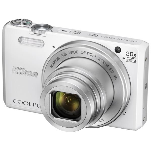 Фотоаппарат компактный NikonЦифровые компактные фотоаппараты<br>Светосила: F:3.4 - 6.5,<br>Зарядка от USB порта: Да,<br>Алгоритм сжатия JPEG: Да,<br>Цифровое увеличение: 4x,<br>Оптическое увеличение: 20x,<br>Кабель USB: в комплекте,<br>Емкость аккумулятора: 700 мАч,<br>Автоматическая фокусировка: Да,<br>Диапазон выдержки: 4 - 1/4000 сек,<br>Порт USB: microUSB 2.0,<br>Базовый цвет: белый,<br>Выход HDMI: microHDMI,<br>Кабель AV: доп.опция,<br>Технология NFC: Да,<br>Кабель для цифр.подкл. (HDMI): доп.опция,<br>Карта памяти: доп.опция,<br>Сегмент: Путешествие и отдых,<br>Кейс: доп.опция<br>