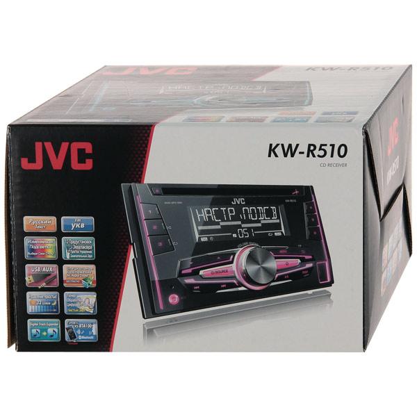 Купить Автомобильная магнитола с CD MP3 JVC KW-R510EED недорого