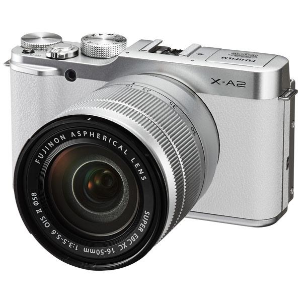 Фотоаппарат системный FujifilmСистемные фотоаппараты<br>Алгоритм сжатия RAW: Да,<br>Алгоритм сжатия JPEG: Да,<br>Диапазон ISO: 100 - 25600,<br>Алгоритм сжатия H.264: Да,<br>Стабилизатор изображения: оптический,<br>Эквивалент 35мм: 24 - 75 мм,<br>Светосила: F:3.5 - 5.6,<br>Глубина: 40 мм,<br>Ширина: 117 мм,<br>Алгоритм сжатия MOV: Да,<br>Цвет: белый,<br>Высота: 66 мм,<br>Подключение смартфона: Android / iOS,<br>Разъем для внешней вспышки: 1,<br>Кабель для цифр.подкл. (HDMI): доп.опция,<br>Габаритные размеры (В*Ш*Г): 66*117*40 мм,<br>Серия: X,<br>Поворотный дисплей: Да,<br>Выход HDMI: miniHDMI<br>