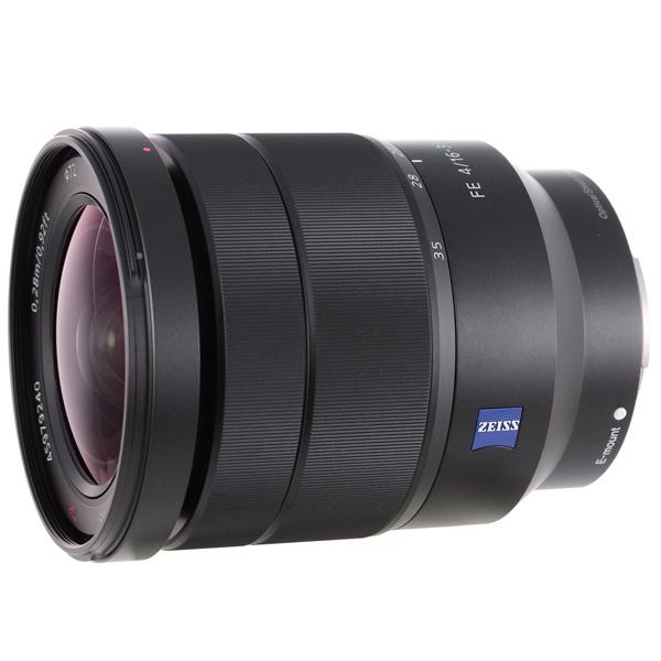 все цены на  Объектив премиум Sony Carl Zeiss Vario-Tessar T* FE 16-35mm f/4 ZA OSS  онлайн