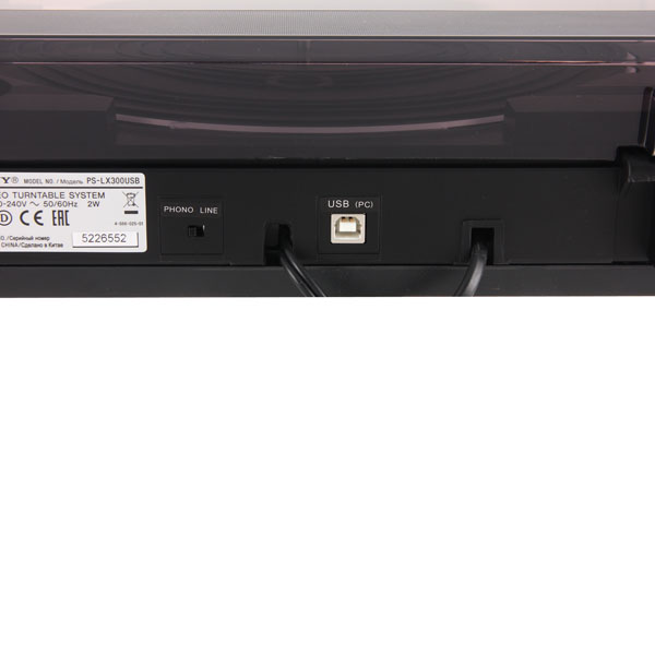 Sony ps-lx300usb инструкция