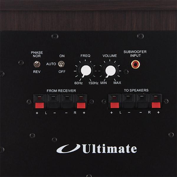 Купить Сабвуфер Ultimate TR100WA Walnut недорого