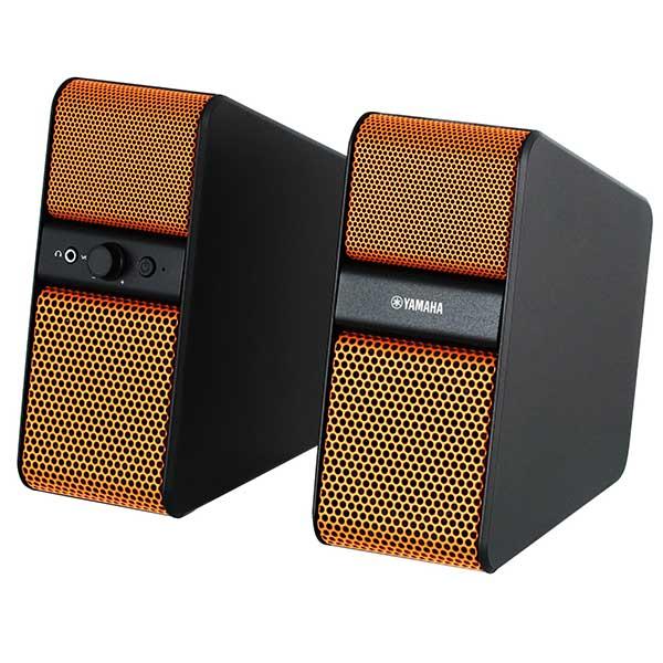 Купить Активные полочные колонки Yamaha NX-50 Orange недорого
