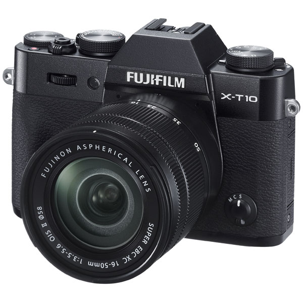Fujifilm F X-T10 16-50 Black fujifilm x t10 body серебристый