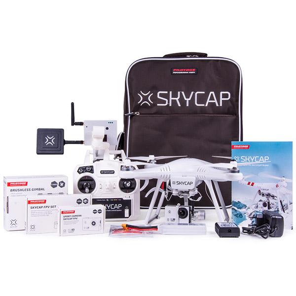 Купить Квадрокоптер Pilotage Skycap RC17260 недорого  Москва, Екатеринбург, Уфа, Новосибирск