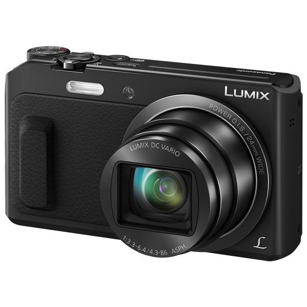 Фотоаппарат компактный Panasonic Lumix DMC-TZ57 Black компактный цифровой фотоаппарат panasonic lumix dmc tz57 brown