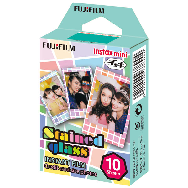Картридж для фотоаппарата Fujifilm Instax Mini Stained glass 1 10/PK fujifilm colorfilm instax mini rainbow ww1 10 pk