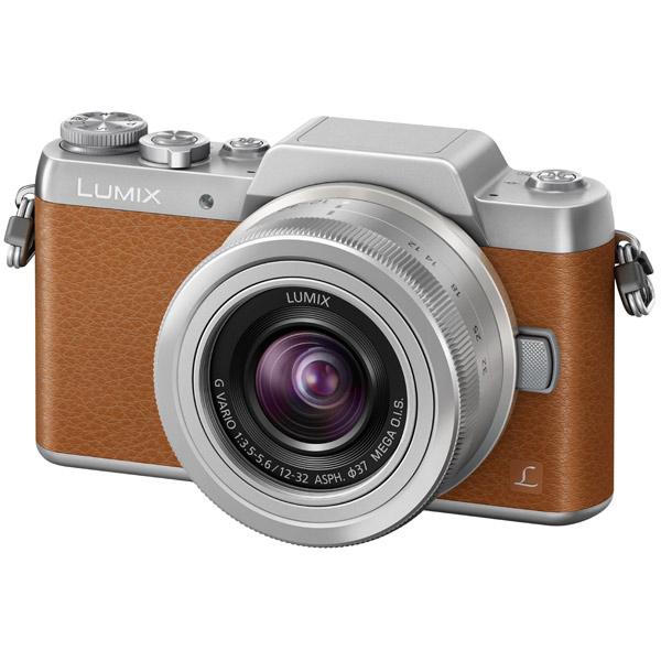 Фотоаппарат системный Panasonic Lumix DMC-GF7K Kit Brown