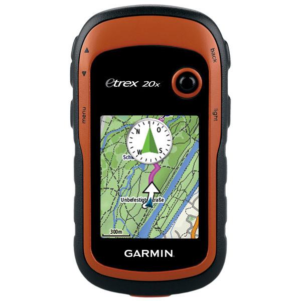 Туристический навигатор Garmin eTrex 20x GPS Глонасс Россия
