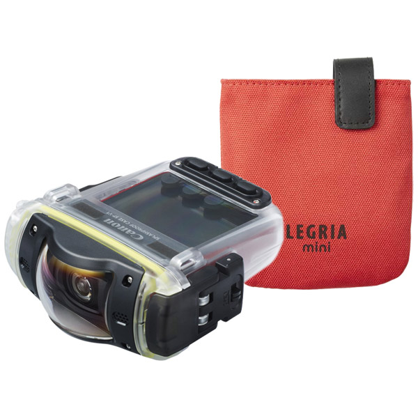 Canon Legria Mini Kit Red