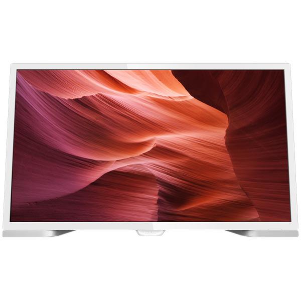 Телевизор PhilipsЖК LED-телевизоры<br>Вход miniD-Sub видео: 1,<br>Версия HDMI: 1.4,<br>Вход HDMI: 2,<br>Настенное крепление: доп.опция (VESA 75),<br>Диагональ экрана: 60.9 см,<br>Разъем SCART: 1,<br>Sleep-таймер: Да,<br>Воспроизведение MPEG4: Да,<br>Потребляемая мощность: 24 Вт,<br>Технология: 100 Гц,<br>Габаритные размеры (В*Ш*Г): 33.2*54.9*10.2 см,<br>Воспроизведение DivX: Да,<br>Страна: Россия,<br>Гарантия: 1 год,<br>Тип дистанционного управления: ИК,<br>Настольная подставка: в комплекте,<br>Вход 3.5 мм аудио: 1,<br>Воспроизведение MP3: Да,<br>Выход оптический (Toslink): 1<br>