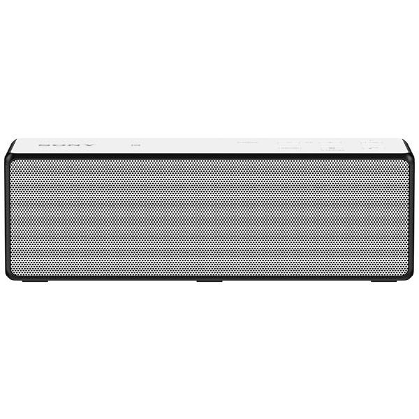 Беспроводная акустика SonyБеспроводная акустика<br>Порт USB: microUSB 2.0,<br>Вид гарантии: гарантийный талон,<br>Работа от аккумулятора: до 12 часов,<br>Тип аккумулятора: Li-Ion,<br>Кабель аудио 3.5 мм - 3.5 мм: доп.опция,<br>Громкая связь Bluetooth: Да,<br>Зарядка USB устройств: Да,<br>Габаритные размеры (В*Ш*Г): 6*18.5*5.9 см,<br>Страна: КНР,<br>Технология NFC: Да,<br>Гарантия: 1 год,<br>Вход 3.5 мм аудио: 1,<br>Кабель USB: в комплекте,<br>Беспроводное воспроизведение: через Bluetooth,<br>Блок питания: в комплекте,<br>Материал корпуса: пластик,<br>Питание от сети 220 В: Да,<br>Вес: 730 г<br>
