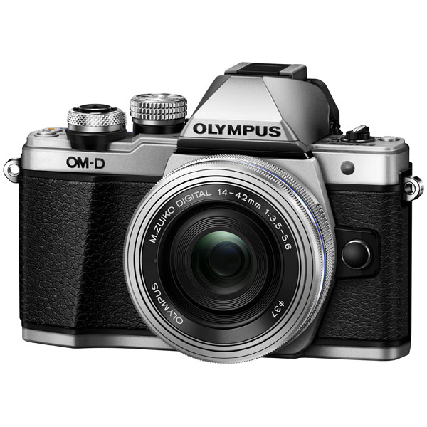 Фотоаппарат системный Olympus OM-D E-M10 Mark II Kit Silver